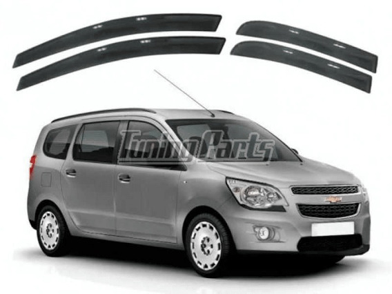 Calha De Chuva Chevrolet Spin 2012 2013 2014 A 2017 4p Fumê