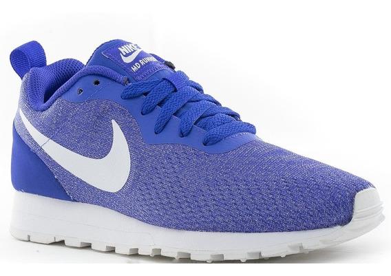Tênis Nike Md Runner 2 Violeta Feminino Original Corrida