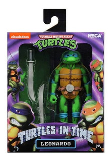 Neca Las Tortugas Ninjas Leonardo Tmnt Turtles In Time