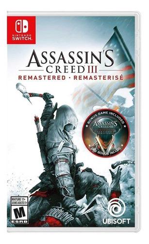 Imagen 1 de 4 de Assassin's Creed III Remastered Ubisoft Nintendo Switch  Físico