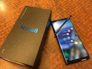 Samsung Galaxy Note 8 64gb (usado) + Micro Sd 64gb Impecable
