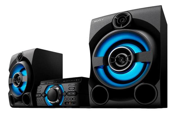Mini System Sony Bluetooth Usb Radio Fm Dvd 1600w Mhc-m60d