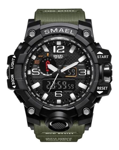 Relógio Masculino P/ Esportes Trilhas A Prova D