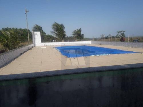 Imagem 1 de 4 de Sítio À Venda, 9846 M² Por R$ 450.000,00 - Centro - Carapebus/rj - Si0001
