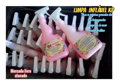Imagem 1 de 10 de Limpa Kp1000 Limpeza Pesada Infláveis Kit 3 Borrifador 500ml