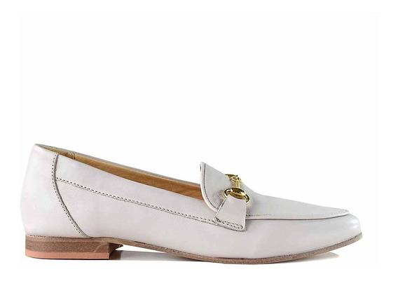 Zapatos Mujer Mocasin Chatita Cuero Briganti Negro Mcmo03658