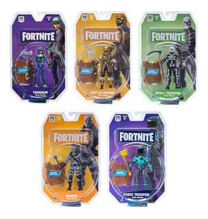 Fortnite Figura Articulada Solo Mode Muñecos 10cm Lelab