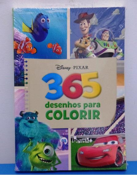 Livro Disney Pixar Toy Store 3+ Livro 365 Desenhos P Colorir