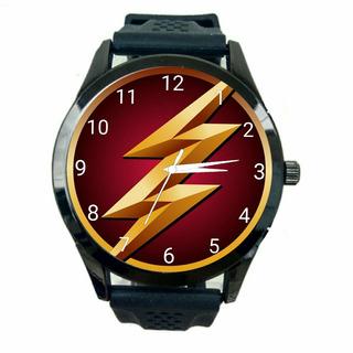 Relógio Flash Unissex Dc Barato Herois Frete Gratis Hq T892