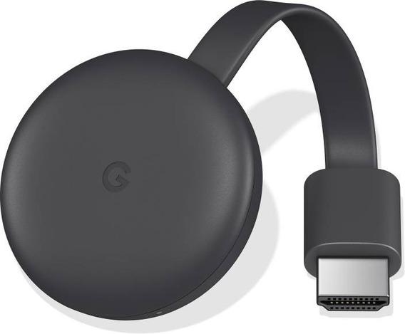 Novo Chromecast 3 Google Com Full Hd Wi-fi Hdmi Original