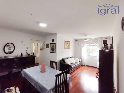 Imagem 1 de 14 de Apartamento Com 3 Dormitórios À Venda, 89 M² Por R$ 550.000,00 - Jabaquara - São Paulo/sp - Ap1372