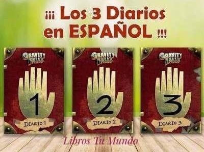 Los 3 Diarios 1, 2 Y 3 De Gravity Falls - Disney