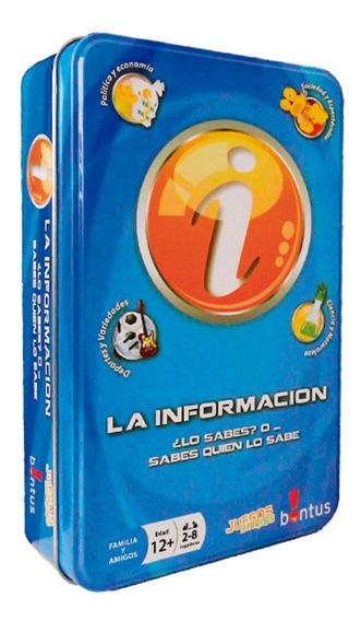Juego La Informaciã³n - En Cajas De Lata