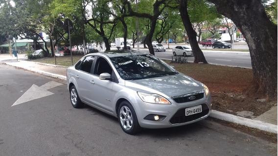 Ford Focus Titanium 2013 Sedan Automático Top Linha E Bx Km