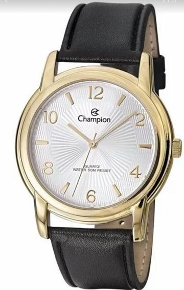 Relógio Champion Masculino Ch22840b Analógico Social Classic