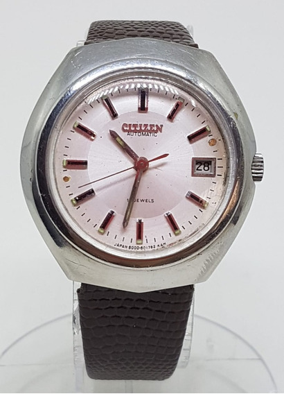 Relogio Vintage Pulso Citizen Automatic Japan 60176017 36mm