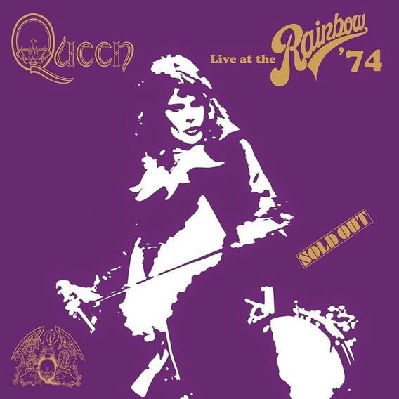 Queen Live At The Rainbow 74 2 Cd Nuevo Freddie Mercury