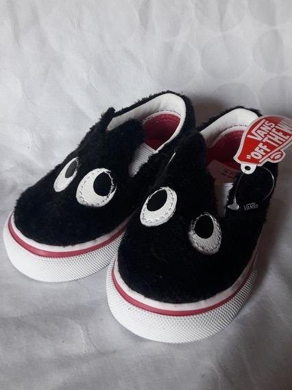 Zapatillas Vans Slip On Peluche Originales Usa Talle 20