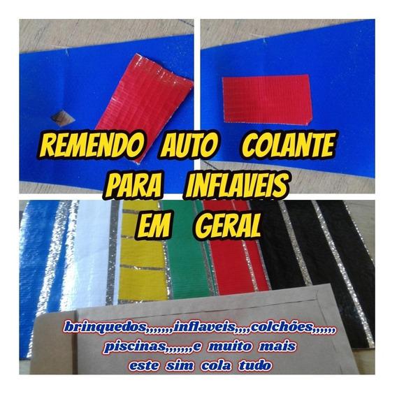 Reparo Auto Colante P/inflaveis Piscinas Etc C/frete Gratis