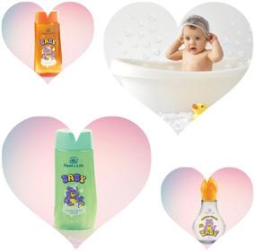 Kit Infantil-nawts Life (banho E Pós Banho)