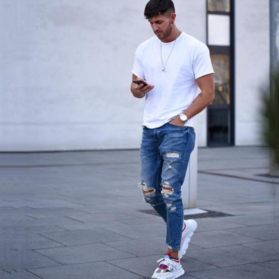 Pantalones Rotos Hombre Mercadolibre Cl