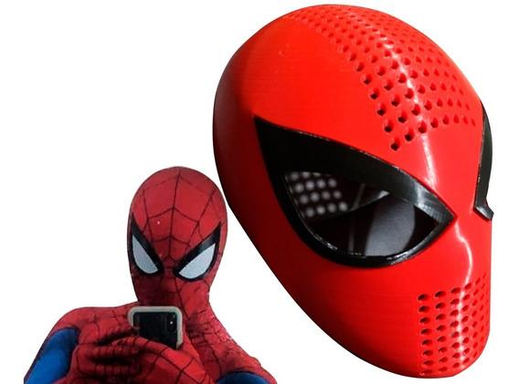 Faceshell + Mascara Tela Spiderman