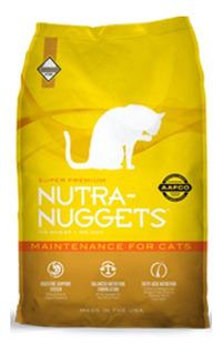 Nutra Nuggets Mantenimiento Gatos X 3 - kg a $16667