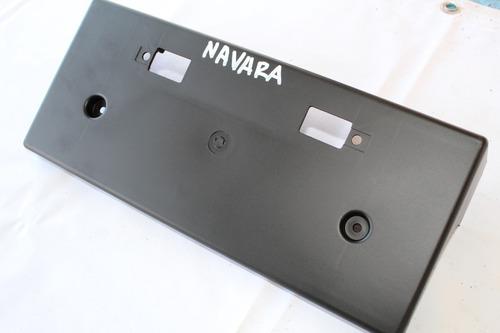 Placa Porta Patente Nissan Navara Nueva!