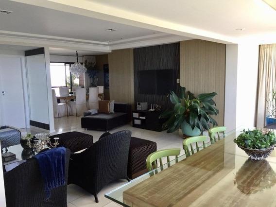 Apartamento 4 Quartos Suítes 180m2 No Rio Vermelho - Bru674 - 32145964