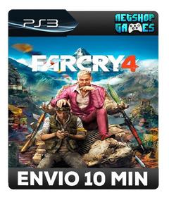 Far Cry 4 - Dublado Em Português - Psn Ps3 - Envio Imediato