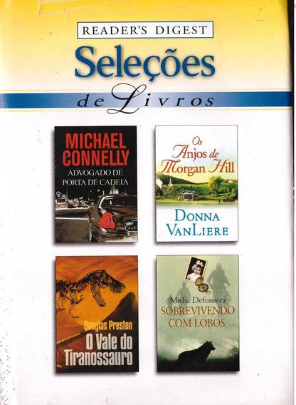 Lote 22 - Livro Seleções Readers Digest (4 Títulos)