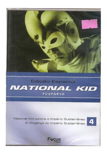 Dvd National Kid 4 (edição Especial)