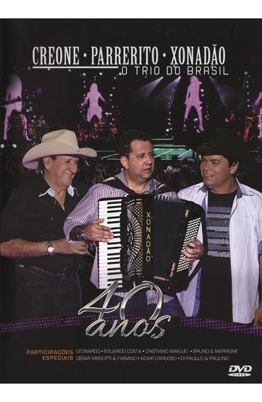 Dvd Trio Parada Dura O Trio Do Brasil - 40 Anos ( Novo!! )