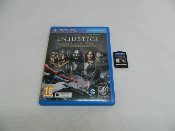 Injustice Gods Among Us Ps Vita - Mídia Física Psvita