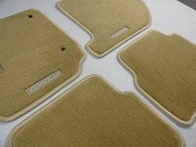 Tapete Corolla Altis - 2009 A 2014 - Carpete Bege Alto Luxo