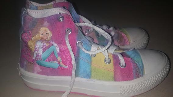 Zapatillas Botitas Barbie Niña! !