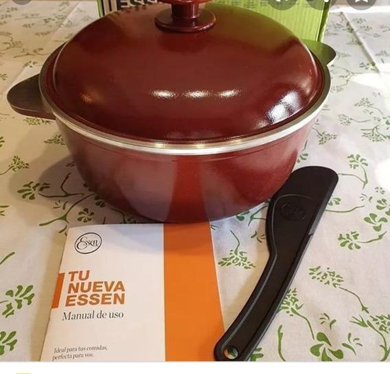 Olla Essen, Cacerola Marsala.24 Cm Con Antiadherente! Nueva