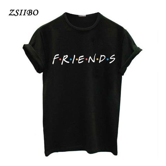 Camiseta Camisa Ou Blusa Baby Look Séries Friends Seriado Tv