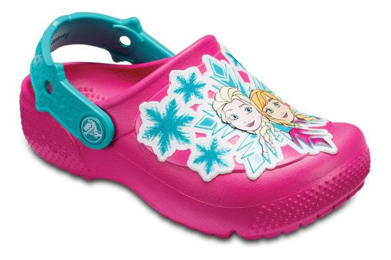 Crocs Originales Fun Lab Frozen Clog Rosa Nene Nena