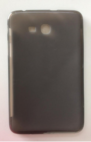 Capa Capinha Silicone Fumê Tablet Samsung Tab 3 Lite