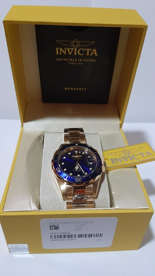 Relógio Invicta Original Pro Driver Importado Ouro 18k