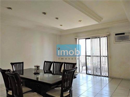 Imagem 1 de 30 de Apartamento Com 3 Dormitórios À Venda, 132 M² Por R$ 600.000,00 - Aparecida - Santos/sp - Ap7940