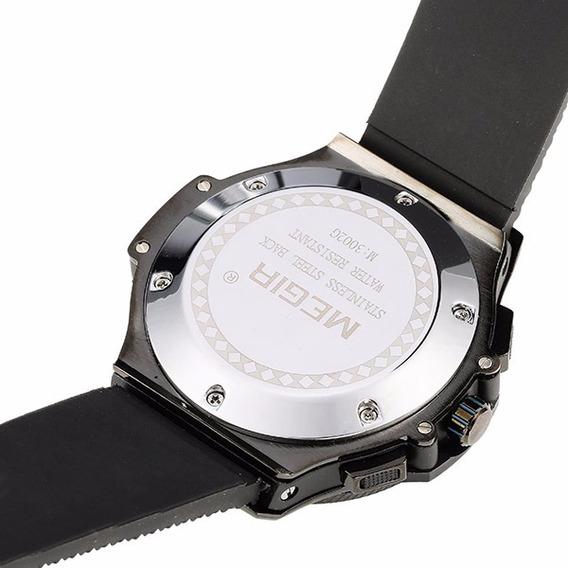 Relógio Quartz Masculino Executivo Sport Original 30mt