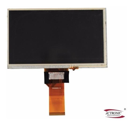 Tela Touch Screen + Lcd Dvd Positron Sp6110 6120 6111 6551 6