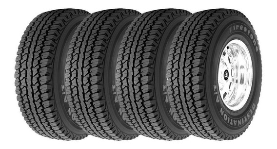 Kit 4 Pneus 265/75r16 Firestone Destination A/t 123r