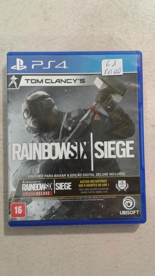 Rainbow Six Siege Ps4 Mídia Física