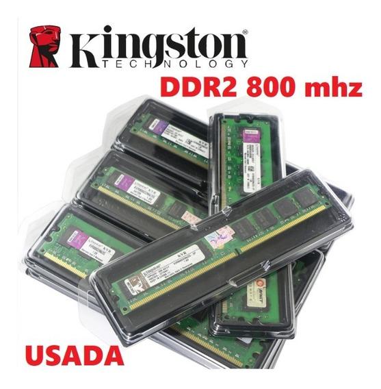 Memória Kingston Ddr2 800 Mhz 2gb