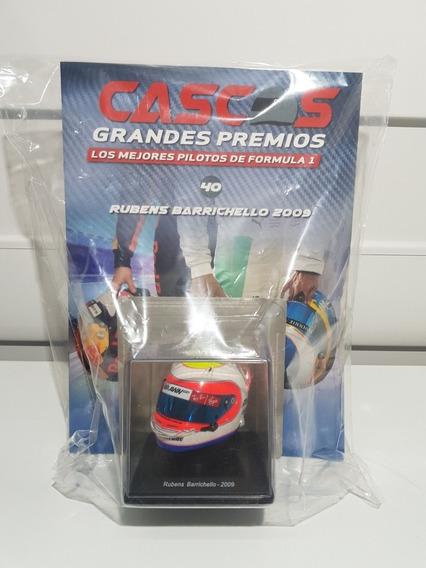 Casco Grandes Premios F1 - N40 Rubens Barrichello 2009