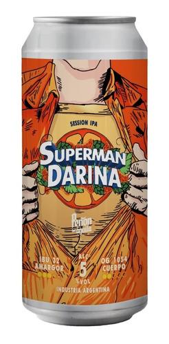 Peñon Del Aguila Superman Darina - Lata X 473ml