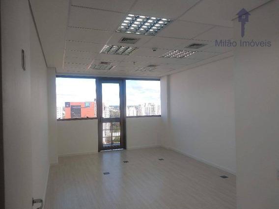 Sala Comercial Para Locação, 32m², Iguatemi Business, Pq. Bela Vista Em Votorantim/sp - Sa0033